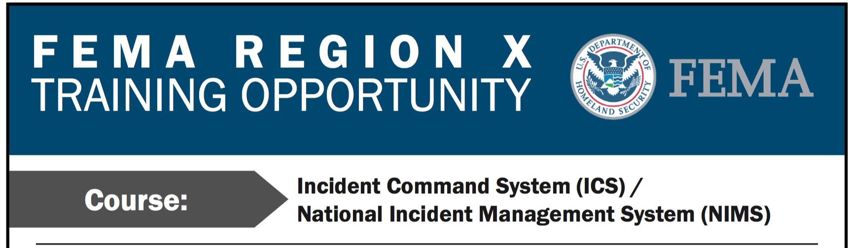 Fema Incident Command System Ics National Incident Mangement System Nims Training Kawerak